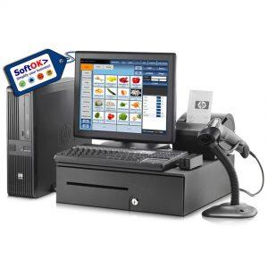 PACHET Sistem PC POS Silver (Restaurant/Magazin)