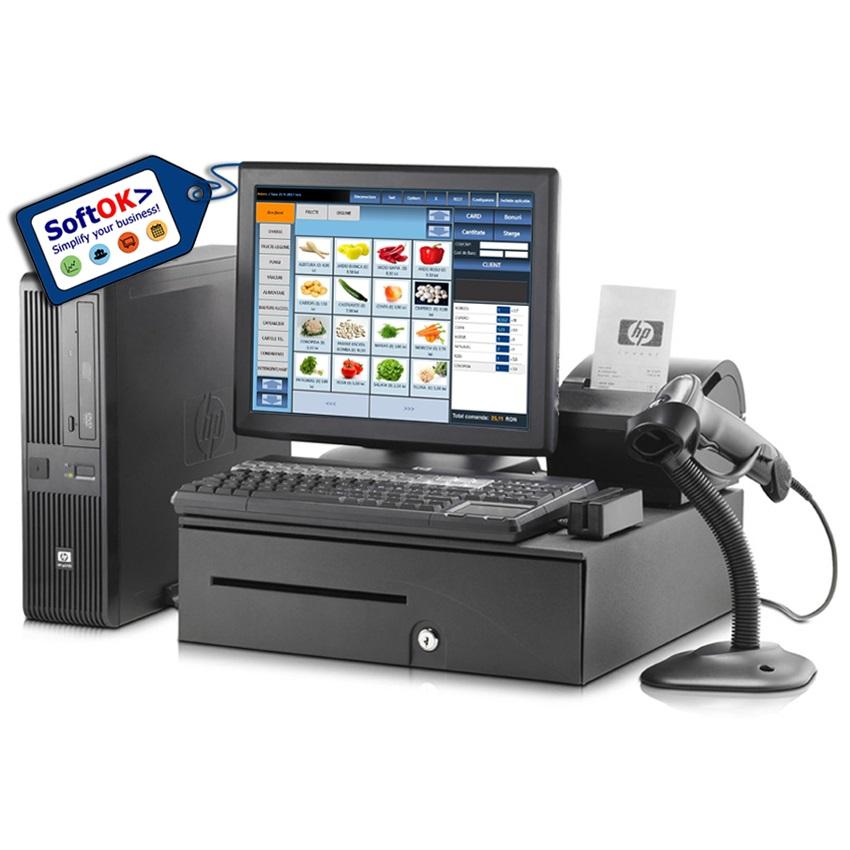 PACHET Sistem PC POS Silver