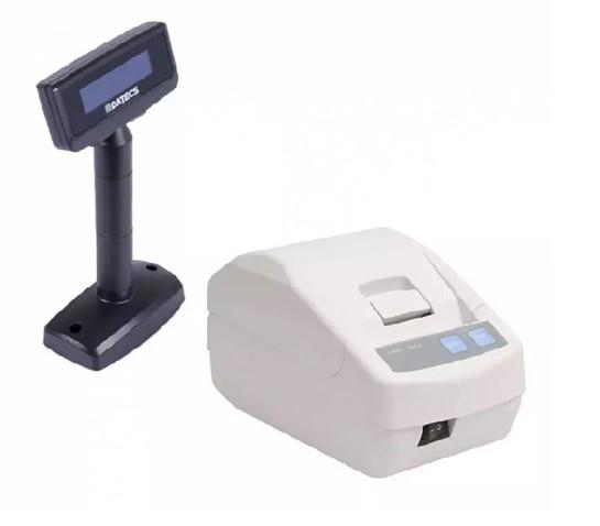 Imprimanta fiscala Datecs FP650 cu jurnal electronic si display client Datecs DPD501