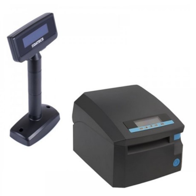 Imprimanta fiscala Datecs FP700 cu jurnal electronic si display client Datecs DPD501