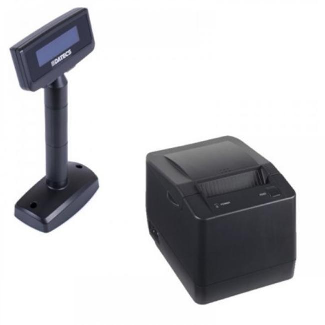Imprimanta fiscala Datecs FP800 cu jurnal electronic si display client Datecs DPD501