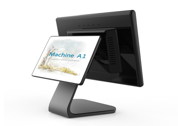 POS all-in-one iMachine Dual Screen2