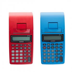 Casa de marcat DATECS DP05 rosie/albastra